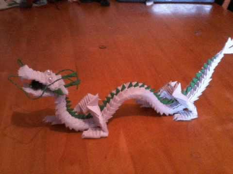 ORIGAMI MASTER CHINESE DRAGON TRIBUTE