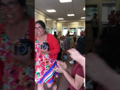 Kyle graduates from Walnut Park Montessori school June 11 2018