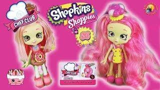 ШОПКИНС 6 сезон ШЕФ КЛУБ Куклы Donatina и Bubbleisha Набор фигурок 5 друзей Shopkins S6 Chef Club