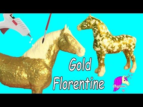 Lisa frank do it yourself custom painting horses craft kit rainbow how to make custom breyer gold florentine horse do it yourself melting wax painting solutioingenieria Choice Image