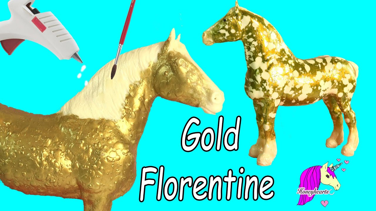 How to make custom breyer gold florentine horse do it yourself how to make custom breyer gold florentine horse do it yourself melting wax painting craft video youtube solutioingenieria Image collections