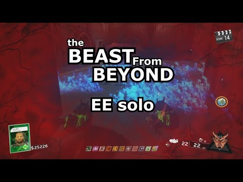 The Beast From Beyond Full Solo Easter Egg blue rhino's op IW Zombies