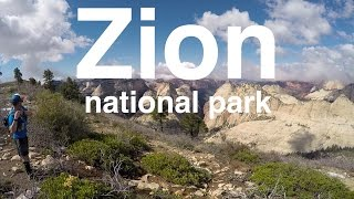 Running the West Rim Trail of Zion National Park