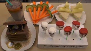 Geburtstagssnacks für Jungs - Freaky Baking - NinNin