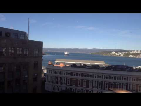 InterContinental Wellington, New Zealand - Review of King Club Harbor View Suite 818