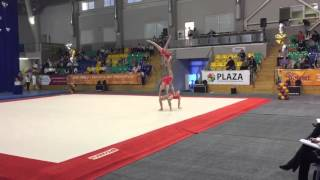 Спортивная акробатика 2016 Октябрьский 1 Танец