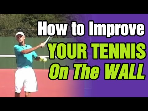 Tennis - How To Improve Your Tennis On The Wall | Tom Avery Tennis 239.592.5920