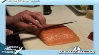 How To Make Yellowfin Tuna And Salmon Sushi Sashimi