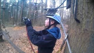 Kletterwald Schwindelfrei Sicherungssystem