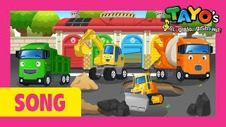 Tayo Songs l The Strong Heavy Vehicles l Trucks for kids l Tayo the Little Bus