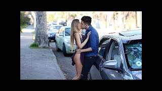 Öpüşme Cezalı Oyun   Kissing Prank UBER 2018
