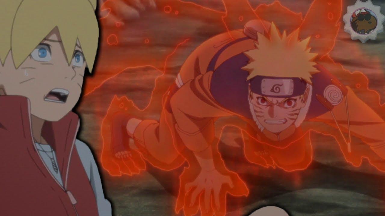 0 Tails Naruto boruto sees naruto's nine tail cloak!| boyhood arc |boruto episode 131  anime review