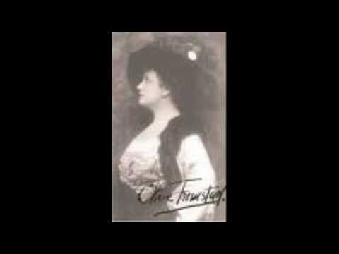 """Olive Fremstad sings Isolde """"Mild und leise wie er lächelt"""" - Liebestod"""