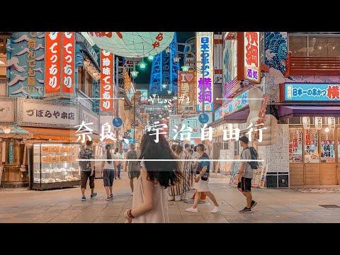 [大阪VLOG#2]人間仙境、絕美夜景!奈良看小鹿、宇治抹茶、蔦屋圖書館、阿倍野觀景台、超美夜景、通天閣|二零2020