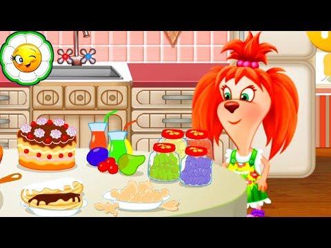 Барбоскины: Готовка Еды  #3  Кулинарная школа Лизы.  Детская развивающая игра