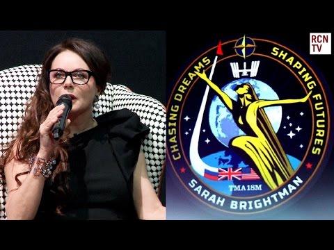 Sarah Brightman Interview - Space Mission Launch & Risks