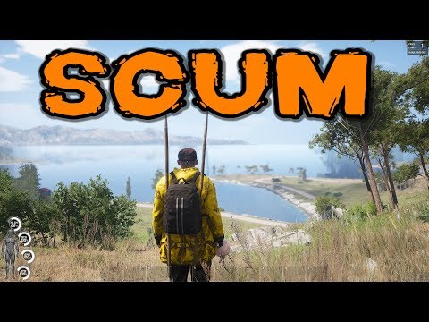 SCUM Gameplay - NEW Open World Survival Sim!! (DayZ meets Hunger Games)
