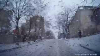 Улица Свердлова. Подъем. Видеорегистратор Aspiring GT-11. Видео Мелитополь.(, 2014-12-29T11:51:28.000Z)