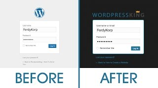 Customize your Wordpress login page Mp3