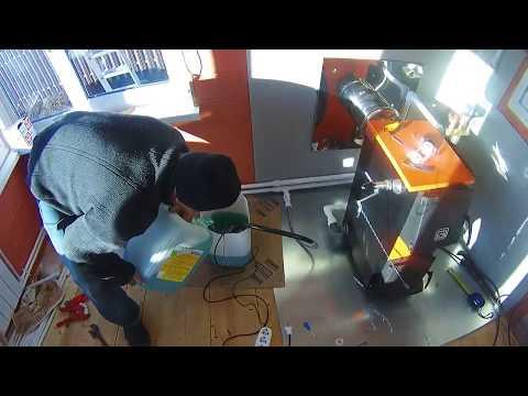 Отопление твердотопливным котлом, обвязка напольного котла в Орехово Зуево