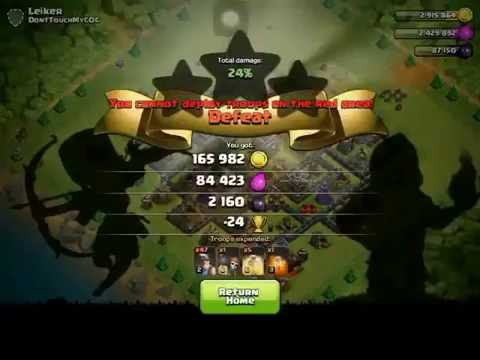 Clash of Clans glitch (October 2016 update)
