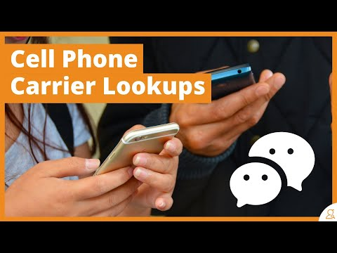 How To Conduct Cell Phone Carrier Lookups, Find The Current Carrier, And Save SMS Fees