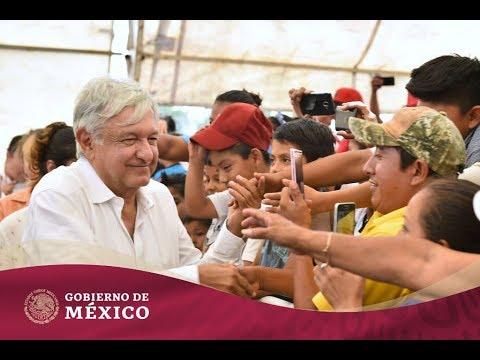 Entrega de #ProgramasBienestar desde Hopelchén, Campeche | Gobierno de México