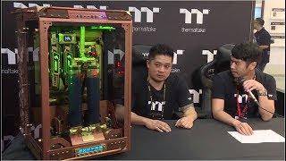 Computex 2017 Thermaltake Modder Interview - Ronnie Hara