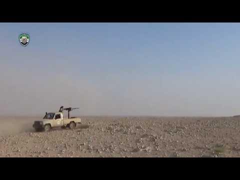 Regime's sectarian militia under heavy FSA fire in rural Sweida, Syrian Desert