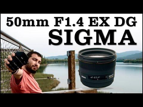 SIGMA 50mm F1.4 EX DG - Review en español