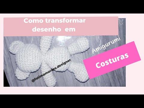 Naninha de urso amigurumi (manta de apego) - YouTube | 360x480