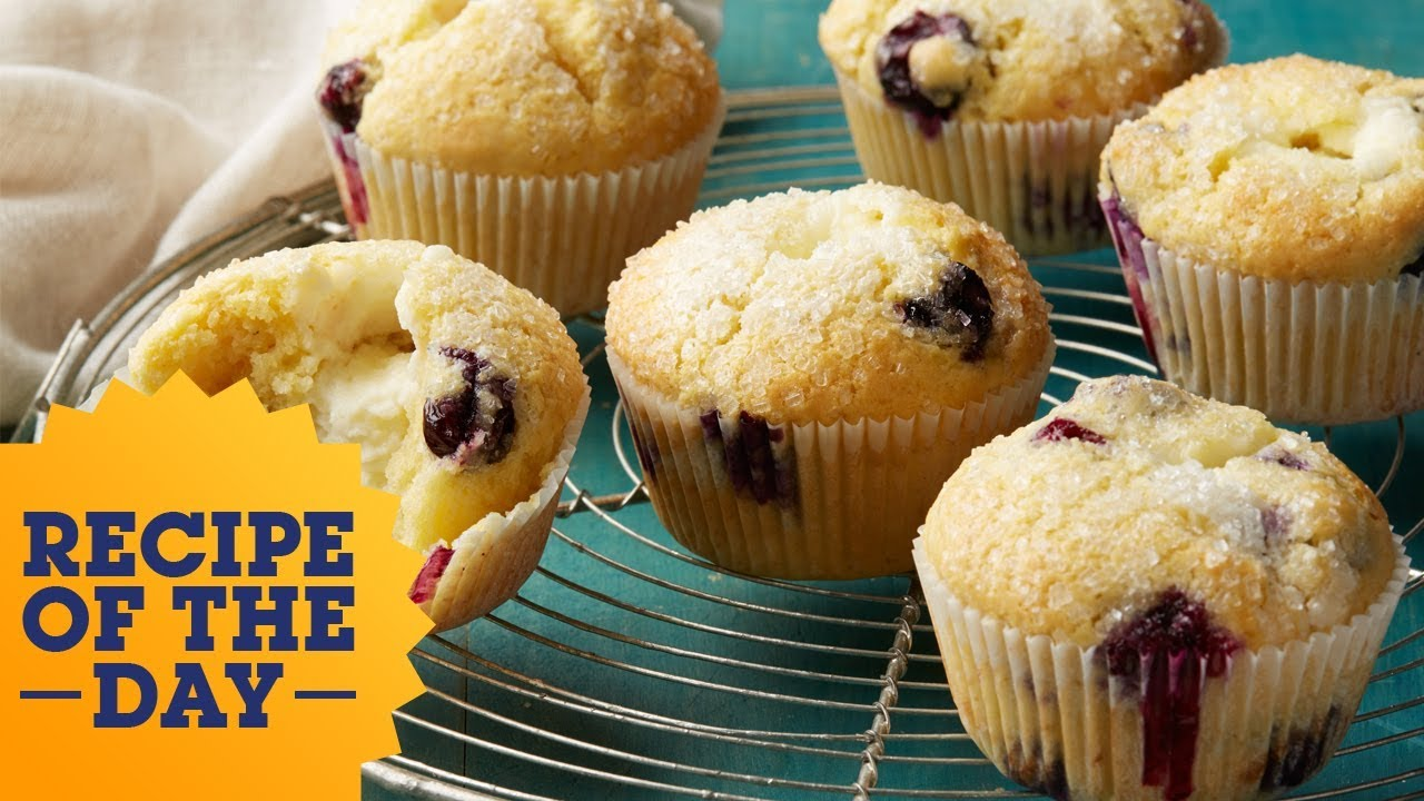 Recipe of the day cheesecake stuffed blueberry muffins food recipe of the day cheesecake stuffed blueberry muffins food network forumfinder Choice Image