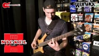 nickel vs steel bass strings