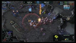 [스타리그 시즌1] 조성호 vs 어윤수 예선 패자결승전 2세트 -EsportsTV,스타크래프트 2