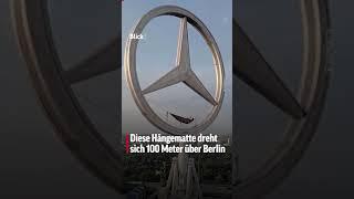 🇩🇪 Diese Hängematte dreht sich 100 Meter über Berlin! #shorts
