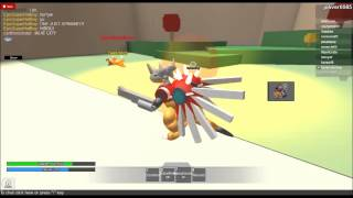 roblox digimon geogrey fight and a toy????