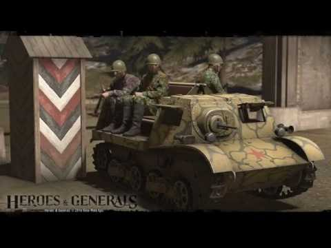 T-20 Komsomolets (Heroes & Generals) H&G ...Played by: XEDGARSX