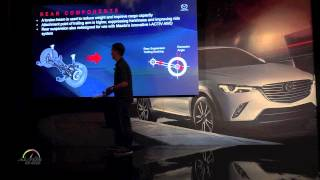 2016 Mazda CX-3 presentation by Engineering Product Manager Stan Hortinela
