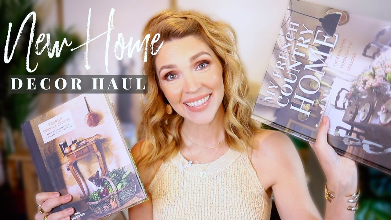 NEW Home Decor Haul + Sharing my Decor Plans \\ French Country Modern 2020