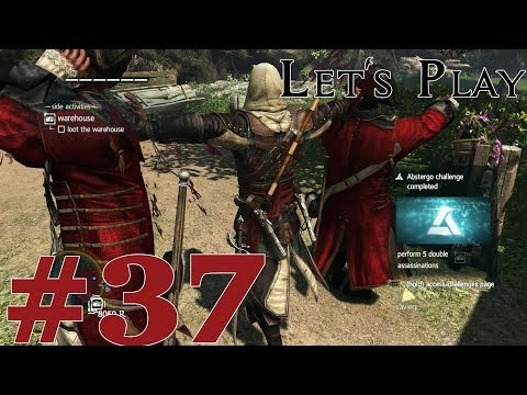 Let's Play Assassin's Creed IV: Black Flag (PS4) Part 37 Warehouses and Viewpoints