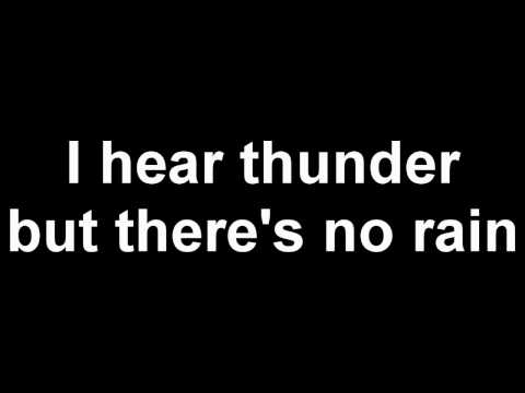 The Prodigy - Thunder - Lyrics