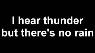 The Prodigy - Thunder - Lyrics