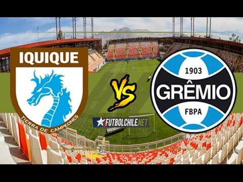 Deportes Iquique (2) vs Grêmio (1) - Copa Libertadores - Partido Completo - 03/05/17