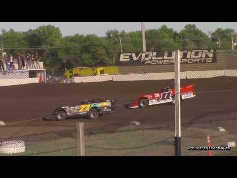 Heat race photo finish - Casino Speedway - 6/3/18