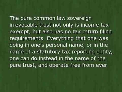 Common Law Pure Trust