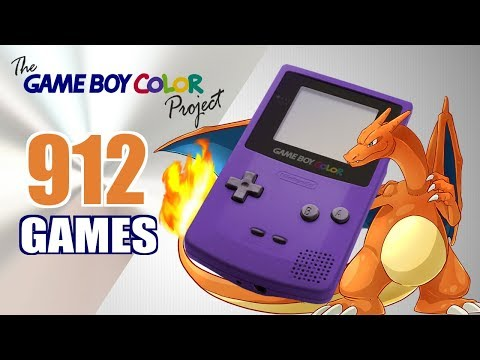 The Game Boy Color Project - All 912 GBC Games - Every Game (US/EU/JP)