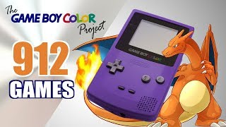 The Game Boy CoĮor Project - All 912 GBC Games - Every Game (US/EU/JP)