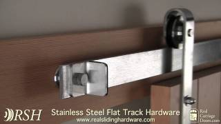 Stainless Steel Barn Door Hardware