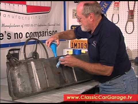 Restoring a Fuel Tank