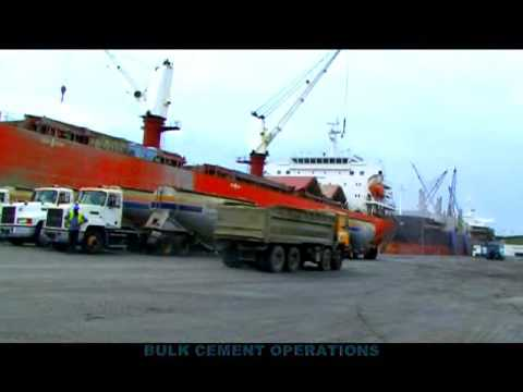Ghana Ports and Harbour docu  (Tema)GPHA Clip1